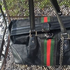💯 Authentic Gucci doctor bag